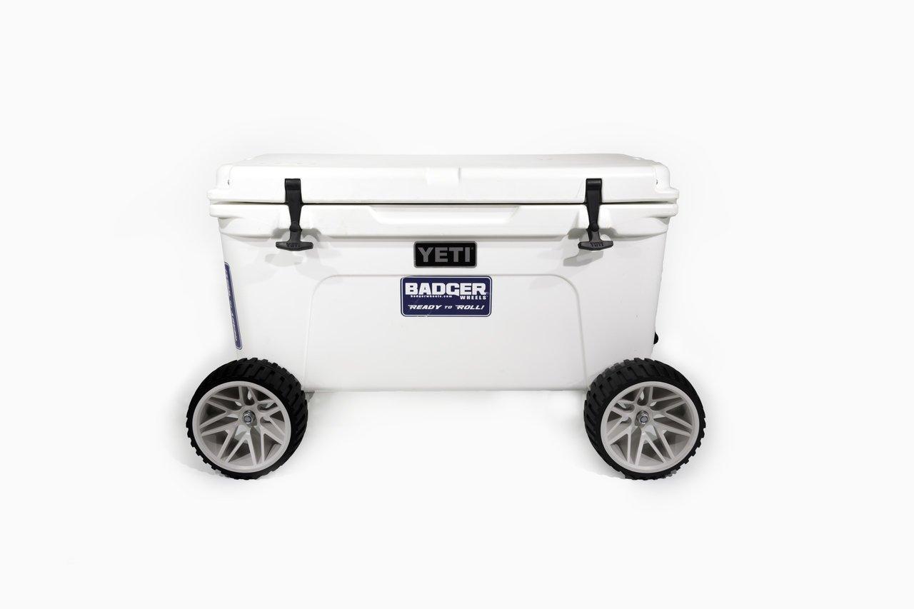 Badger Wheels Large Wheel Original Combo Handle Two Axles Fits Tundra 35-45-50-65-75-105-110-125-160