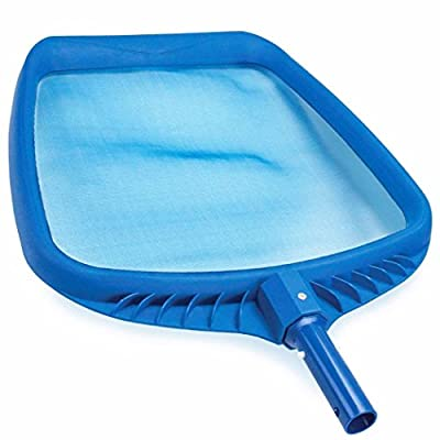 Funny City Heavy Duty Pool Leaf Rake Fine Mesh Frame Net Pool Skimmer Cleaner Swimming Pool Spa Tool