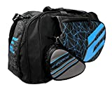 E-Force Racquetball Tournament Bag (Black with Blue Graphics)