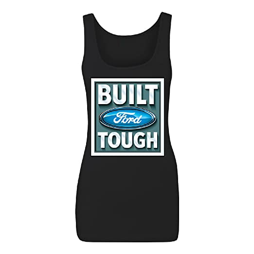 Official Ford Built Tough Women's Tank Top Shirts at Amazon