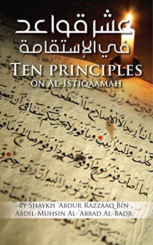?READ? Ten Principles On Al-Istiqaamah. Trade primera custom about Descubra Contact acceso