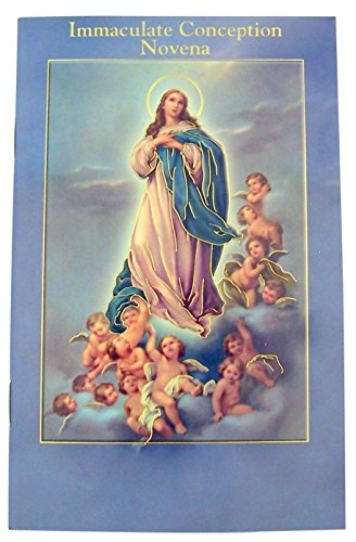 Fratelli Bonella Milano Design Gold Stamped Illustrated Novena Book of Prayers and Devotions of Immaculate Conception ()