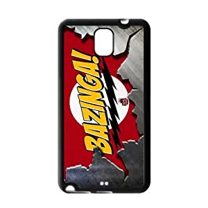 LeonardCustom Protective Hard Rubber Coated Cover Case for Samsung Galaxy Note 3, Big Bang Theory Quote -LCN3U173