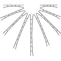 Viessmann 4355 - N universal catenaria 147-163