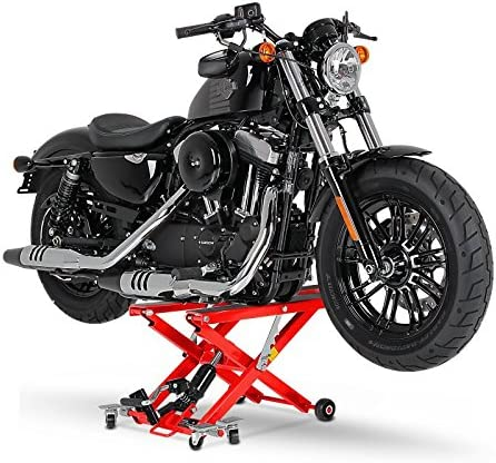 Motorrad Hebeb/ühne XL f/ür Kawasaki VN 1700 Voyager rot Scherenheber