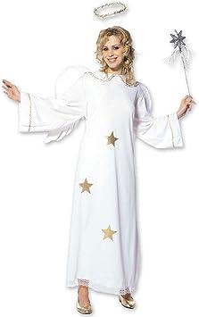 Disfraz de ángel con vestido y alas disfraz de Ángel Halo de ...