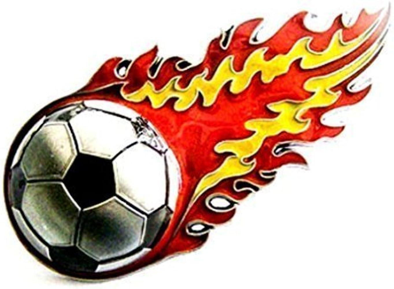 Marcas de fútbol, fuego la cola, España - hebilla de cinturón ...