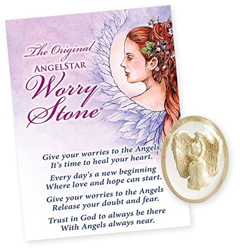 AngelStar Courage Angel Worry Stone, 1.5