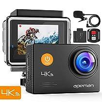 【新型】 APEMAN A79 アクションカメラ 4K高画質 1600万画素 ...