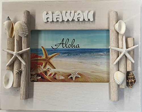 Wooden Sea Shell Design Picture Frame 4