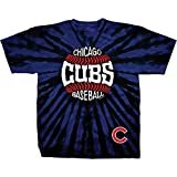 Unisex MLB Blue Tie-Dye Short Sleeve T-Shirt - Chicago Cubs