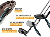 Golf-Brush-and-Club-Groove-Cleaner-Easily-Attaches-to-Golf-Bag-Deep-Clean-Iron-Grooves-Cleaning-Club-Face-Bag-Clip-Retractable-Extension-Cord-Perfect-Gift