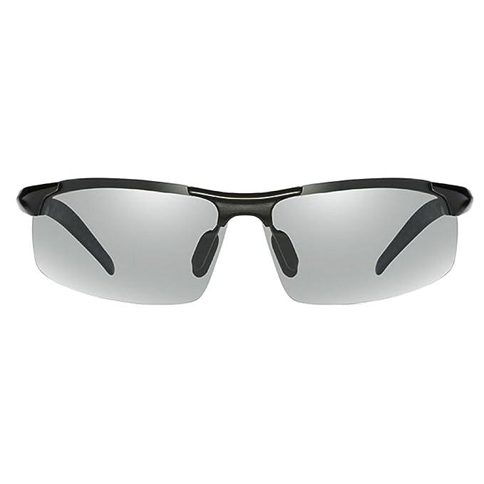 GAOLIXIA ALUMINIO Y MAGNESIO COLLAR DE MONTAR EN ALEACIÓN Gafas De Sol Polarizadas Gafas De Sol