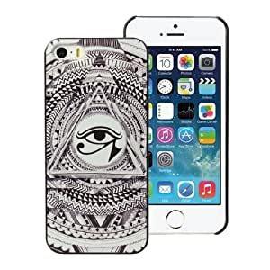 amtonseeshop New Fashion Hot Variou Painted Pattern Phone Hard Back Case for iPhone 5 5S (Eye)