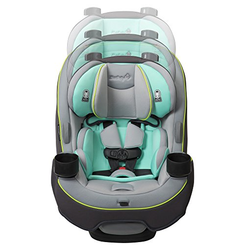 517hWD3t7%2BL - Safety 1st Grow And Go 3-in-1 Convertible Car Seat, Vitamint