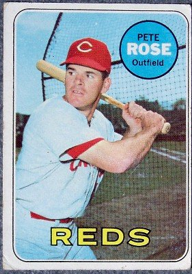 Pete Rose 1969 Topps Card #120