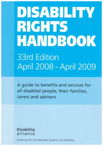 Disability Rights Handbook Ian Greaves