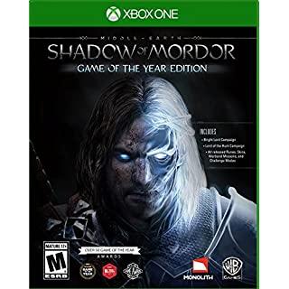 Middle Earth: Shadow of Mordor Game of the Year - Xbox One