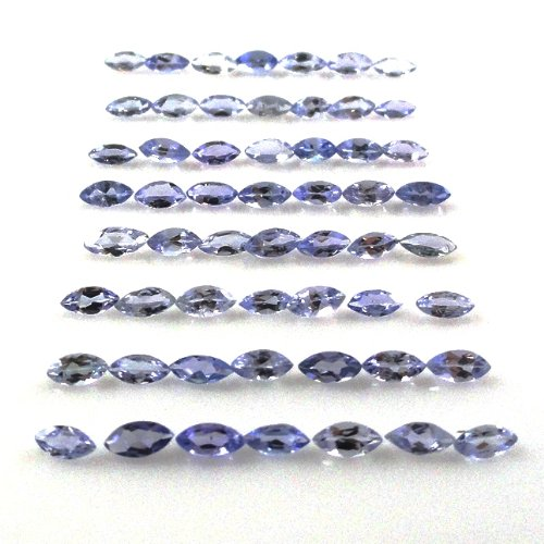 (Natural Tanzanite Approximately 4 Carat Marquise Shape 4x2mm (1952))