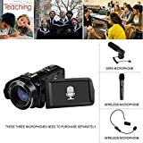 SEREE Comcorder Full HD 1080P Video Camera 16X Digital Zoom 2.7