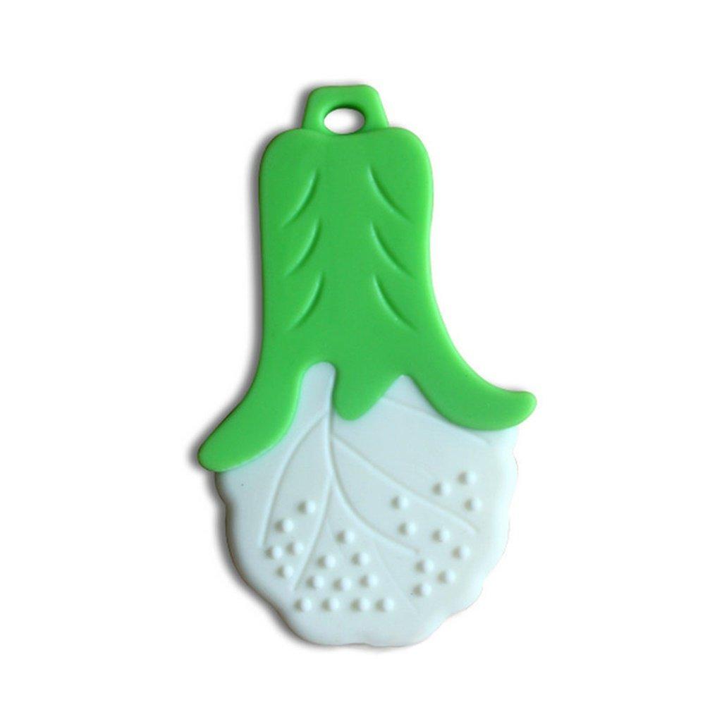 mordedor de silicona vegetal natural y org/ánico Mordedor para beb/és 5 piezas