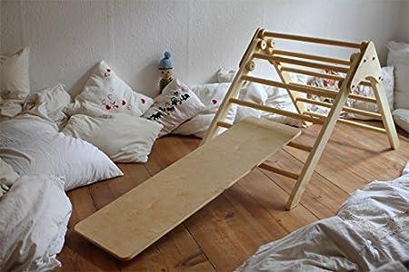 Kletterdreieck Klappbar Selber Bauen : Sprossendreieck rutschbrett: amazon.de: baby