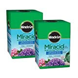 Scotts Company Miracle-Gro 1750011 Water Soluble Miracid Acid-Loving Plant Food, 1-Pound (2)