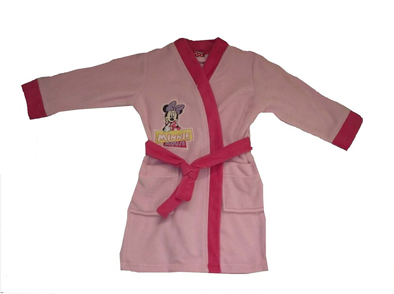 GIRLS DRESSING GOWN ROBE DISNEY MINNIE MOUSE 18-5 YEARS