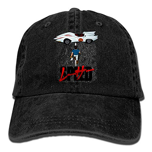 Camping Hair Speed Racer Unisex Adult Adjustable Trucker Dad Hats