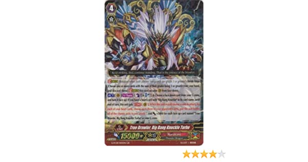 Vanguard TCG - True Brawler, Big Bang Knuckle Turbo (G-FC01/005EN) - Fighters Collection 2015: Toys & Games