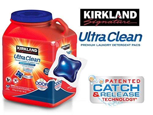 Kirkland Signature Ultra Clean - Juego de Ropa Sucia, 152 Unidades: Amazon.es: Hogar