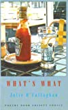 What's What, Julie O'Callaghan, 1852241616