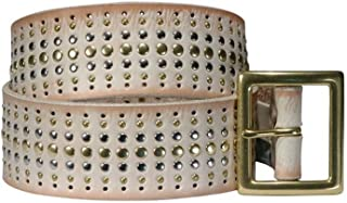 product image for Leather Belt in Bone