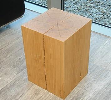 nouvelle arrivee 58fd9 3e315 Holz-Projekt-Summer Design Siège de Block Tabouret Cube Pouf ...