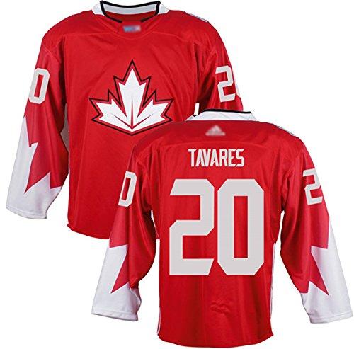 Custom Men's Tavares #20 Canada 2016 World Cup of Hockey Jersey XL Red