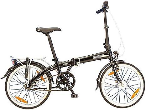 20 Pulgadas Bicicleta plegable Dahon Vybe i3, 3 marchas Negro ...