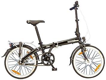 20 Pulgadas Bicicleta plegable Dahon Vybe i3, 3 marchas Negro Bicicleta plegable para STVZO
