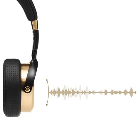Xiaomi Mi Headphones - Auriculares de diadema, dorado