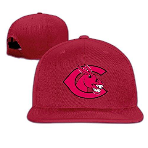 [ElishaJ Flat Bill University Central Missouri Baseball Hats Red] (Mens Dallas Cowboy Football Costumes)