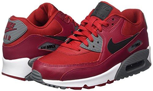 Redblacknoble Scarpe Ginnastica Nike 90 Max Rosso Redcool Grey gym Da Essential Uomo Air BBIv6qf