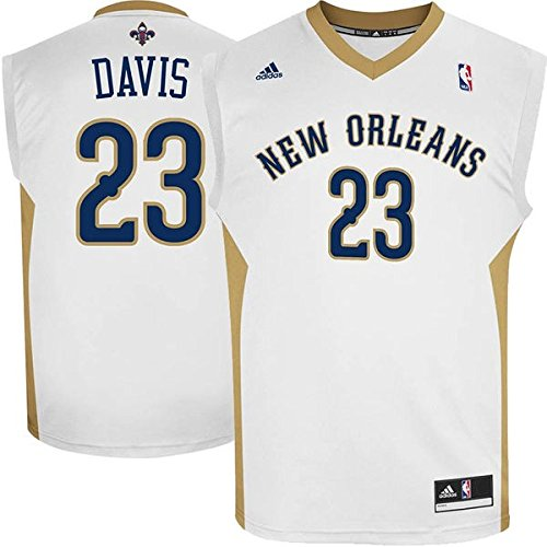 Anthony Davis New Orleans Pelicans #23 NBA Youth Home Jersey (Youth Small 8)