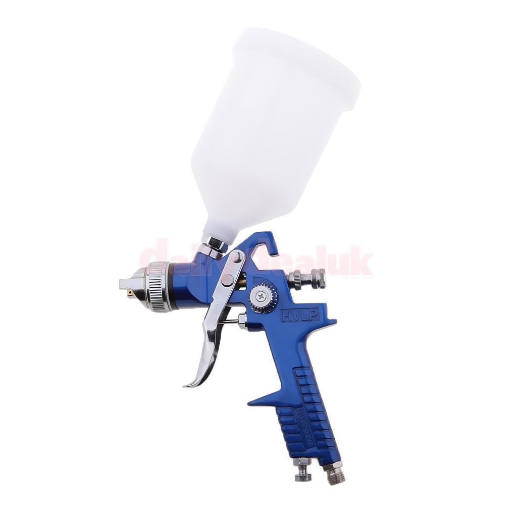 FidgetFidget Air Spray Paint Gun Car Auto Gravity and 1.7mm Nozzle 600ml Cup Capacity Kit by FidgetFidget (Image #6)