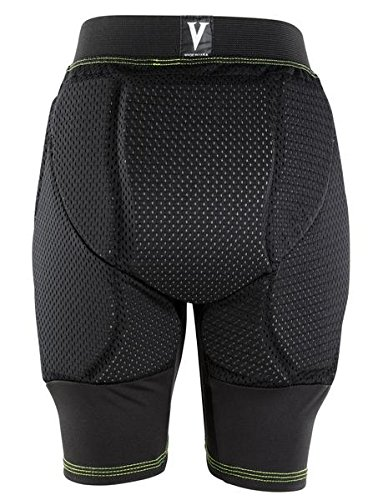 Vigilante Tech Kids Padded Shorts with Tailbone Pad for Snowboarding, Skateboarding, Ice Skating (Youth Small (19-22in Waist))