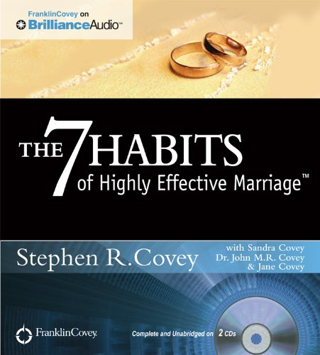 The 7 Habits of Highly Effective Marriage (Self Development Audio Cd compare prices)