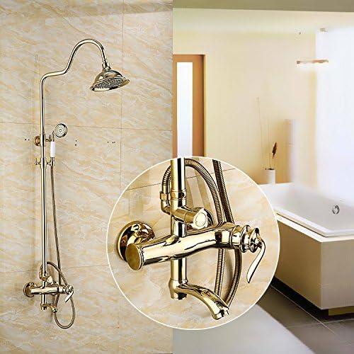 Accesorios de baño ZHFC Ducha del Cobre Vintage Europeo ...