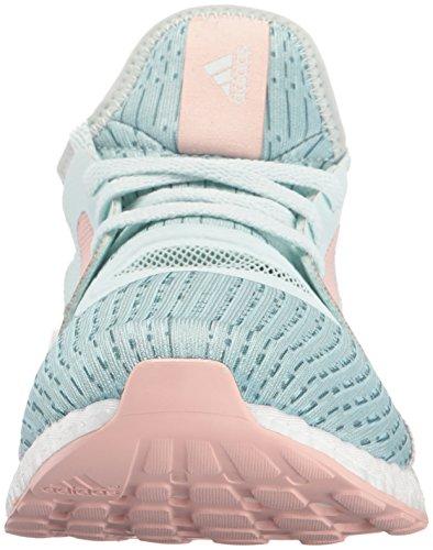 Scarpe Da Running Adidas Performance Pureboost X Scarpa Da Running Ghiaccio Menta / Vapore Acciaio / Tessuto Vapor Rosa