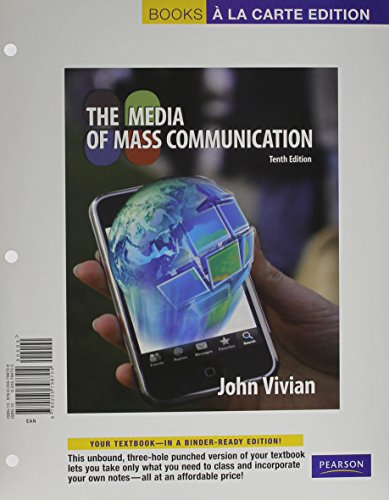 Media of Mass Communication, The, Books a la Carte Plus MyCommunicationLab -- Access Card Package (10th Edition)