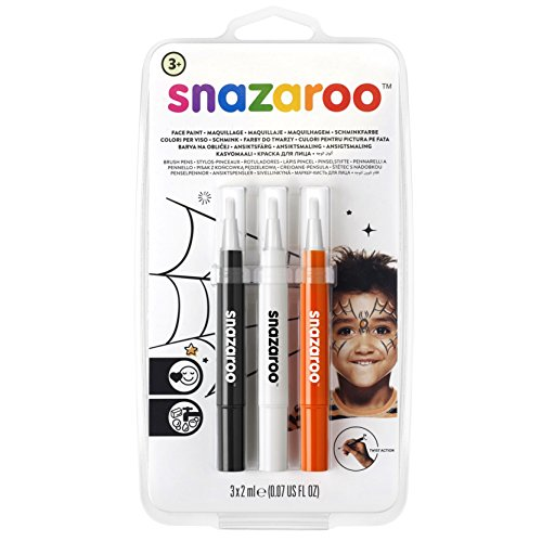 Snazaroo Face Paint Brush Pen, Halloween ()