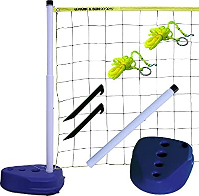 Park & Sun Sports Portable Indoor/Outdoor Swimming Pool Volleyball Net System by Park & Sun