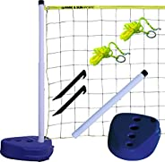 Park & Sun Sports Portable Indoor/Outdoor Swimming Pool Volleyball Net Sy